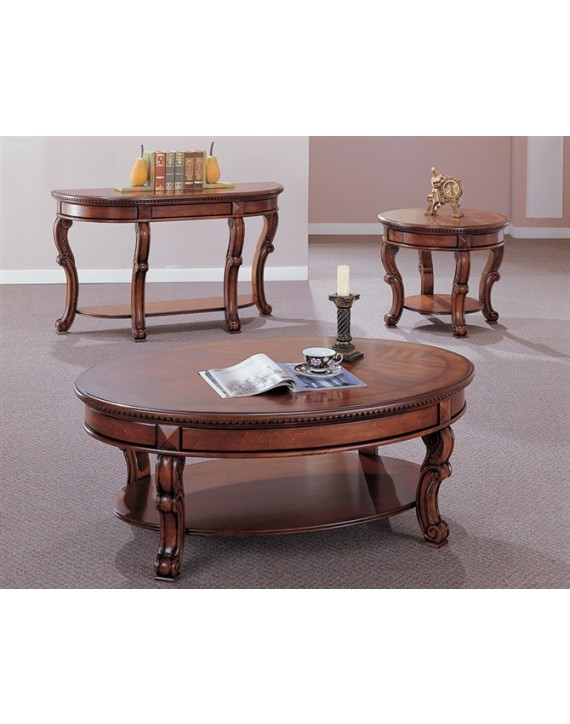 Coffee table+2 end table