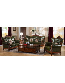 3+2+1 leather sofa lounge suite